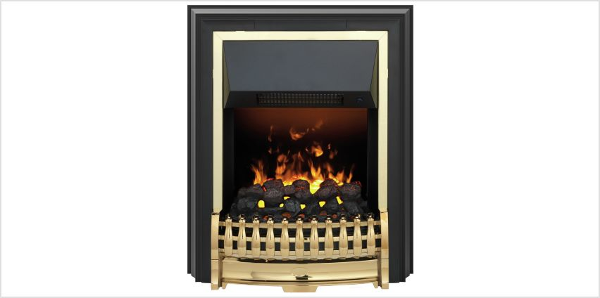 Bramdean Opti Myst Freestanding Fire - Brass from Argos