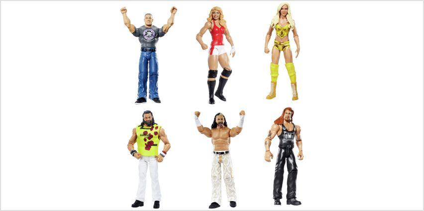 WWE Wrestlemania Figure Assortment from Argos