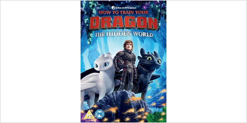 How to Train Your Dragon 3: The Hidden World DVD from Argos