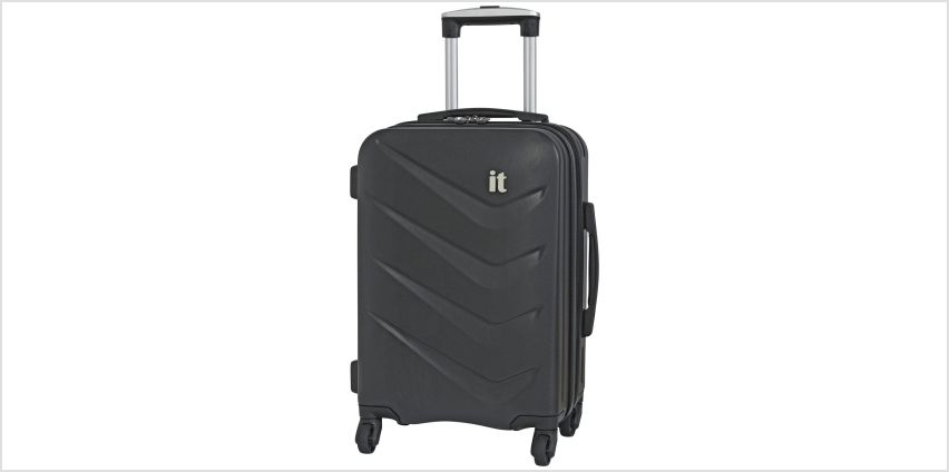 it Luggage Expandable 4 Wheel Hard Suitcase from Argos