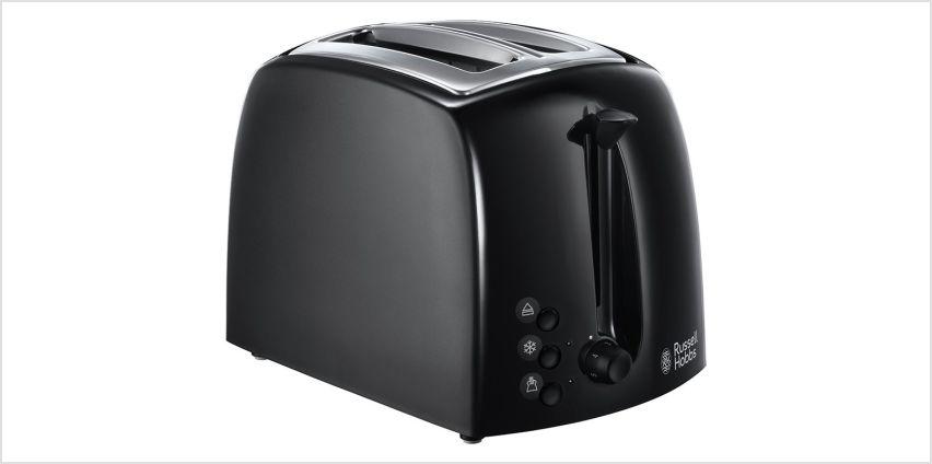 Russell Hobbs 21641 Textures 2 Slice Toaster - Black from Argos