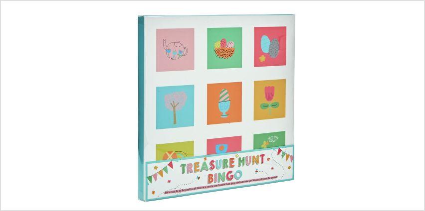 Professor Puzzle Easter Treasure Hunt Bingo from Argos