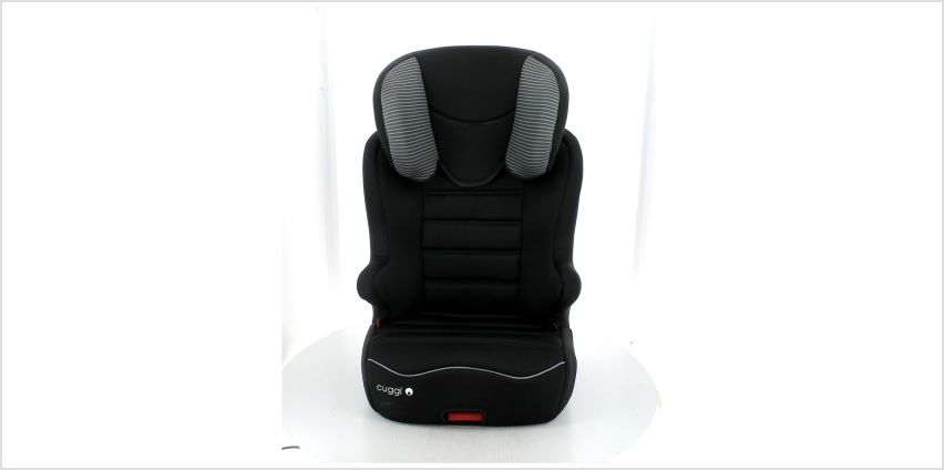 Cuggl Sandpiper Group 2/3 ISOFIX Car Seat - Black from Argos