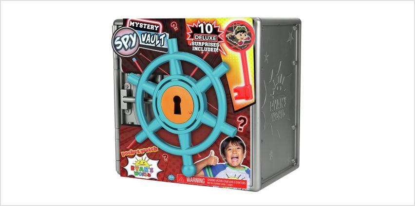 Ryan's World Mystery Spy Vault from Argos