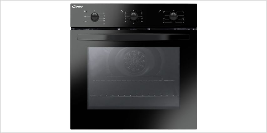 Candy FCS602N/E Multifunction Single Oven - Black from Argos