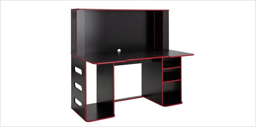 Argos Home Cornex Gaming Desk - Black from Argos
