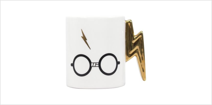 Harry Potter Lightning Bolt Mug from Argos