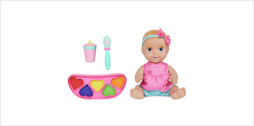 Luvabella Mealtime Magic Blonde Hair from Argos