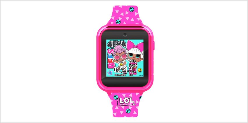 LOL Surpise Pink Silicone Strap Watch from Argos