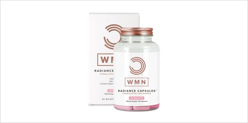 WMN Radiance Capsules Skin Hair and Nails Formula x 30 Caps from Argos