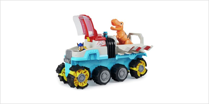 PAW Patrol Dino Rescue Motorised Dino Patroller Team Vehicle from Argos