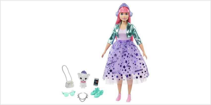 Barbie Princess Adventure Deluxe Daisy Doll from Argos