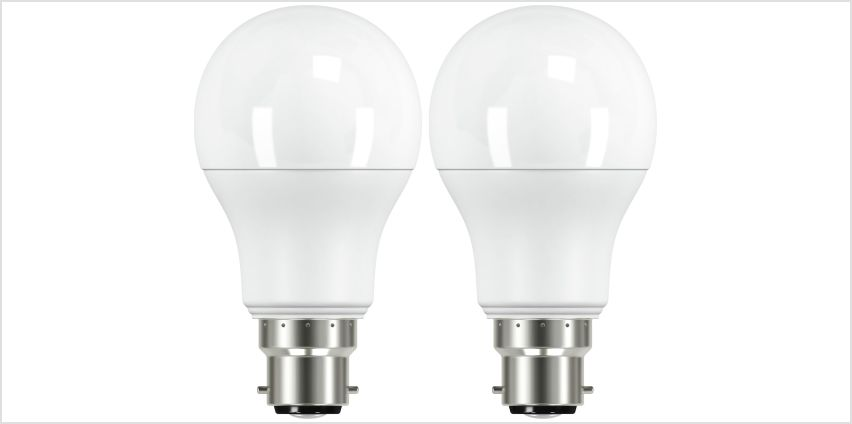 Argos Home 10W LED BC Light Bulb - 2 Pack from Argos