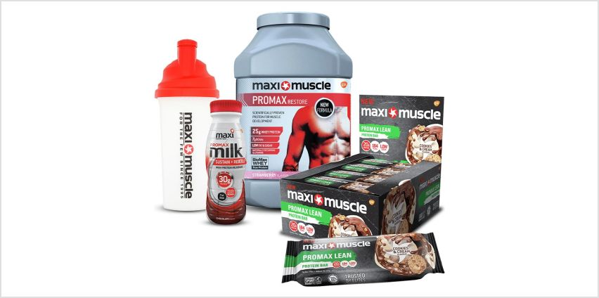 Maximuscle Starter Pack Bundle from Argos