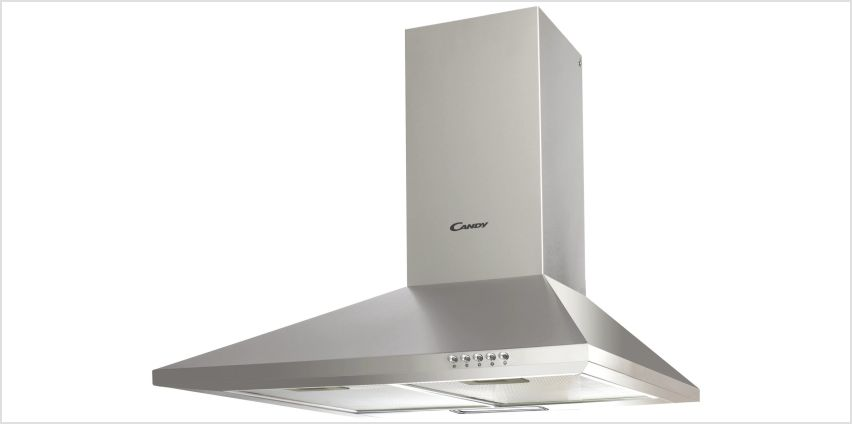 Candy CCE116/1X Chimney Cooker Hood - Stainless Steel from Argos