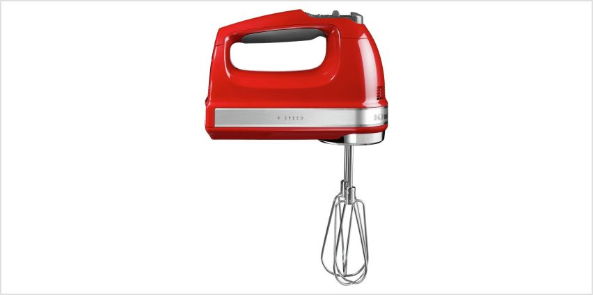 KitchenAid 5KHM9212BER Electric Hand Mixer - Empire Red from Argos