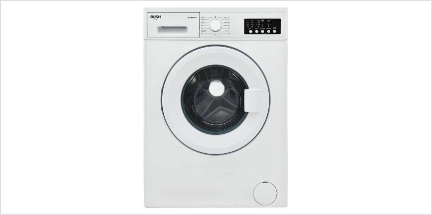 BUSH WMNB712EW 7KG 1200 Spin Washing Machine - White from Argos