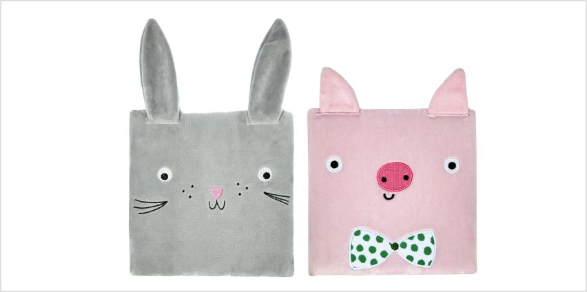 Argos Home Bunny or Pig Furry Notebook - 1 Provided from Argos