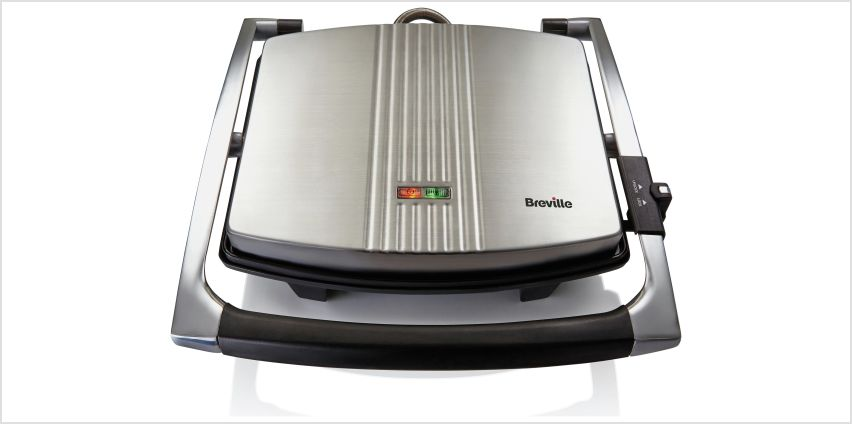 Breville VST026 4 Portion Sandwich & Panini Press from Argos