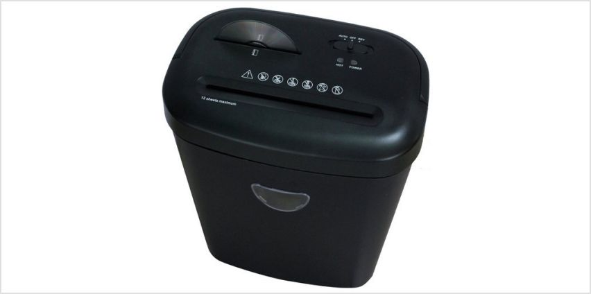 ProAction 12 Sheet 25 Litre Card and CD Cross Cut Shredder from Argos