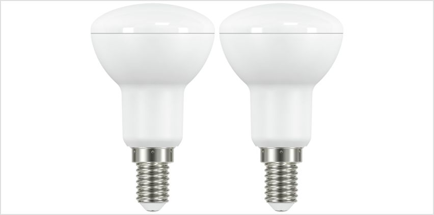 Argos Home 6W LED Spotlight R50 SES Light Bulb - 2 Pack from Argos