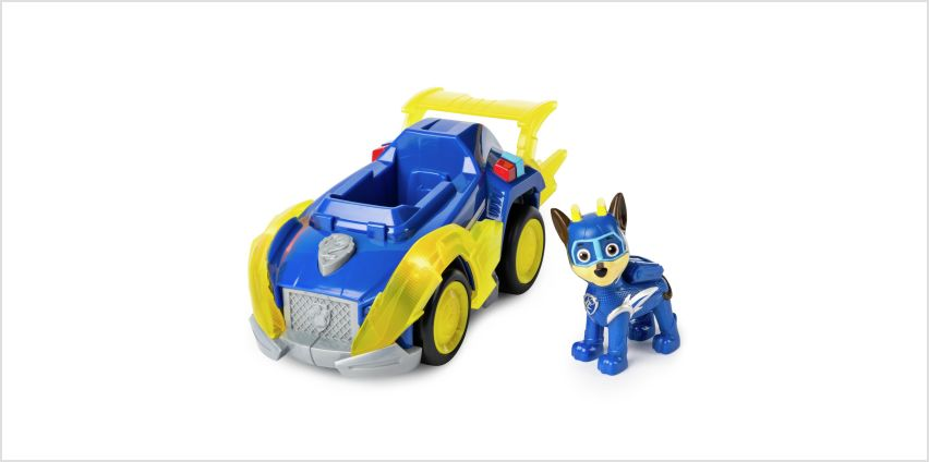 PAW Patrol Mighty Pups Chase's Vehicle from Argos