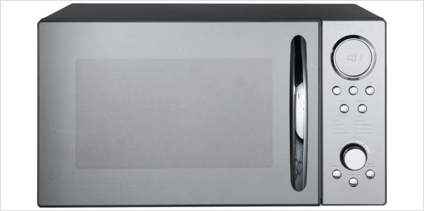 Morphy Richards 900W Microwave with Grill D90D23ELB8 - Black from Argos