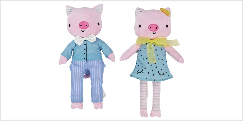 Argos Home Pig Soft Toy - 1 Provided from Argos