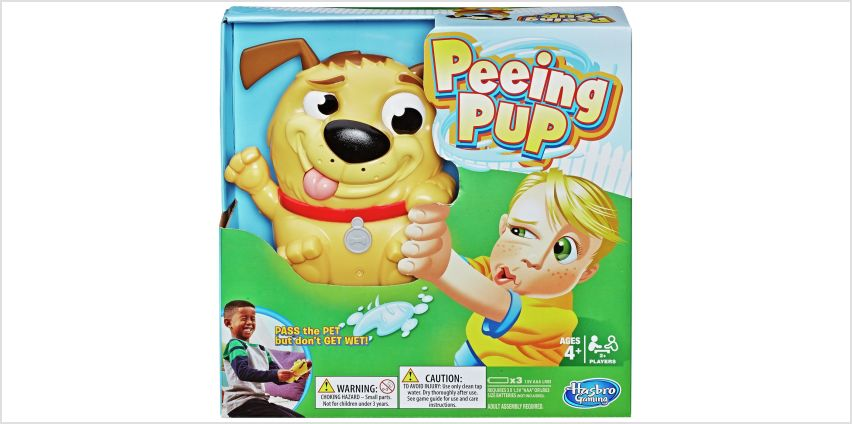 Peeing Pup Game from Hasbro Gaming from Argos