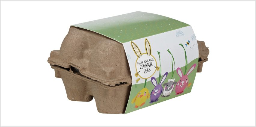 Argos Home Paint Your Own Ceramic Easter Eggs from Argos