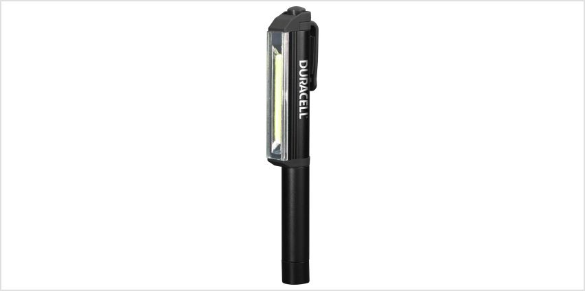 Duracell PEN-2 190 Lumens LED Worklight Torch from Argos