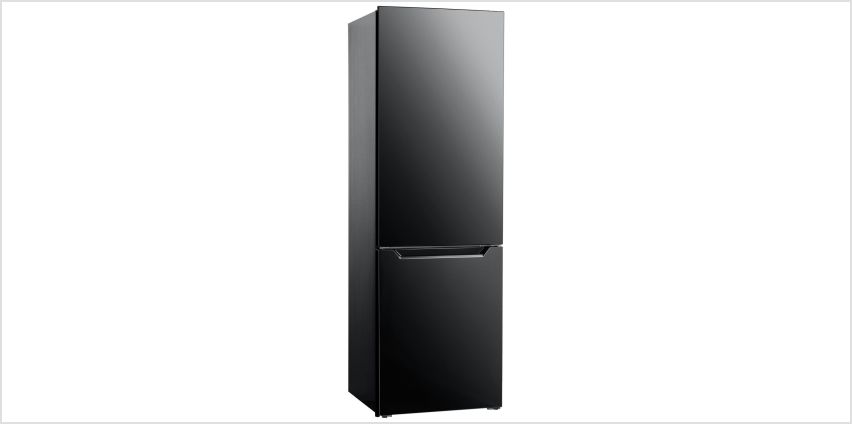 Bush 60185FF Fridge Freezer - Black from Argos