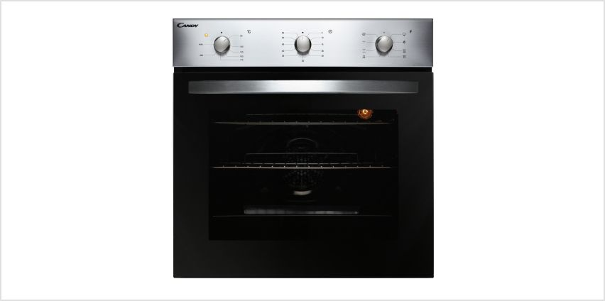 Candy FCS602X/E Multifunction Single Oven - Stainless Steel from Argos