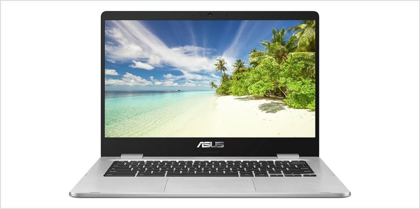 ASUS C423 14 Inch Celeron 4GB 32GB Chromebook - Grey from Argos