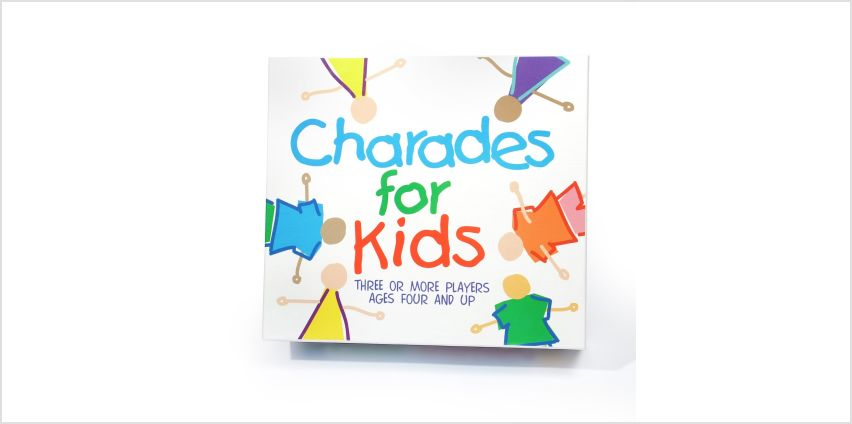 Charades for Kids Game from Argos