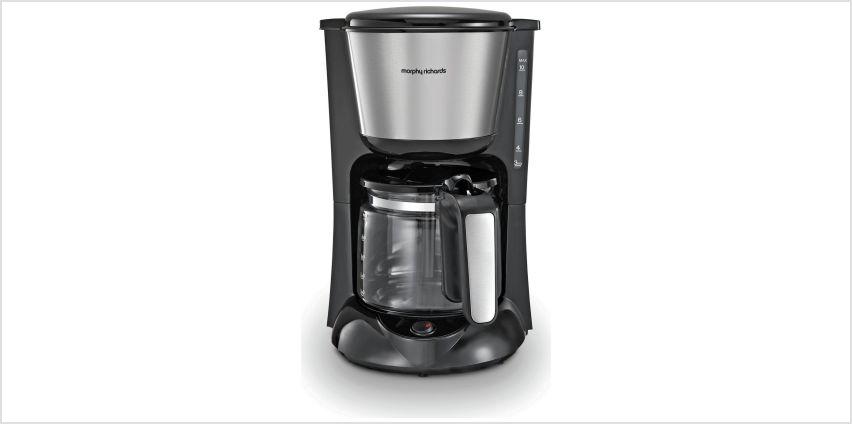 Morphy Richards 162501 Filter Coffee Machine - Black from Argos