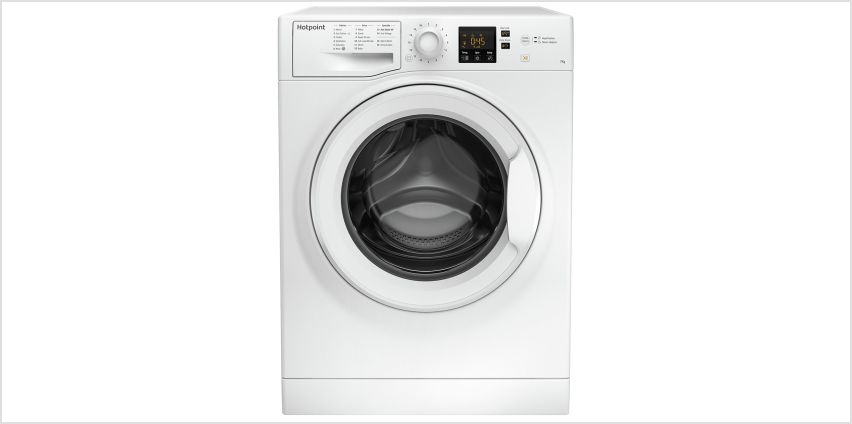 Hotpoint NSWM743UW 7KG 1400 Spin Washing Machine - White from Argos