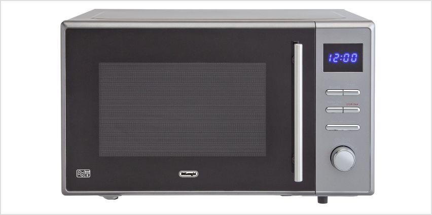 De'Longhi 900W Standard Microwave AC925 - Grey from Argos