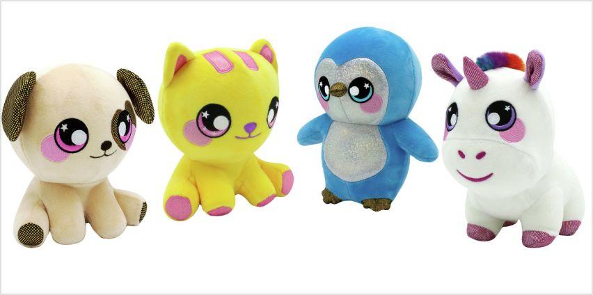 Squeezamals 3D Soft Toy Assortment from Argos