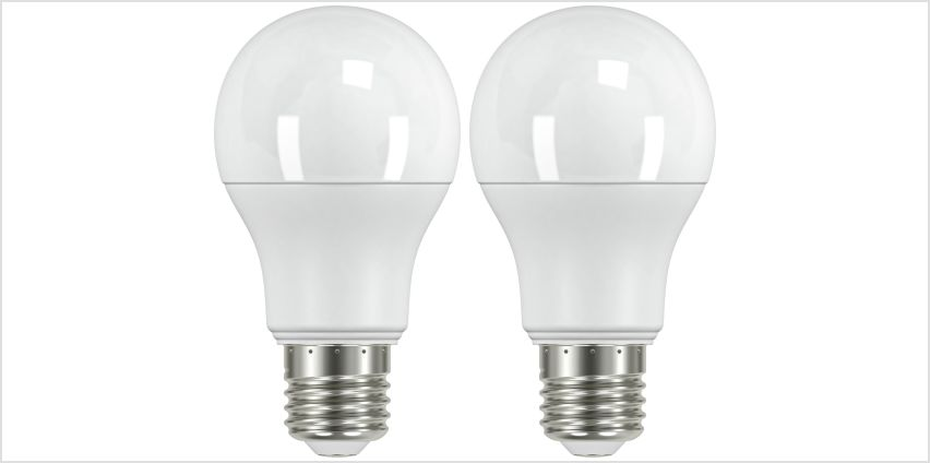Argos Home 10W LED ES Light Bulb - 2 Pack from Argos