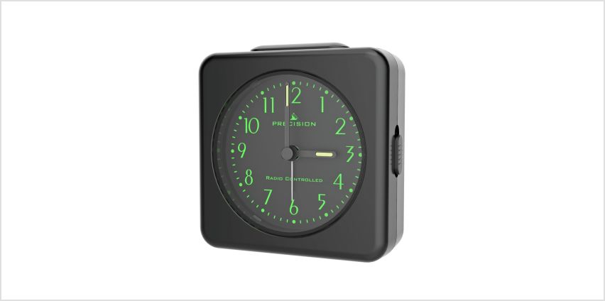 Precision Radio Control Light & Snooze Alarm Clock from Argos