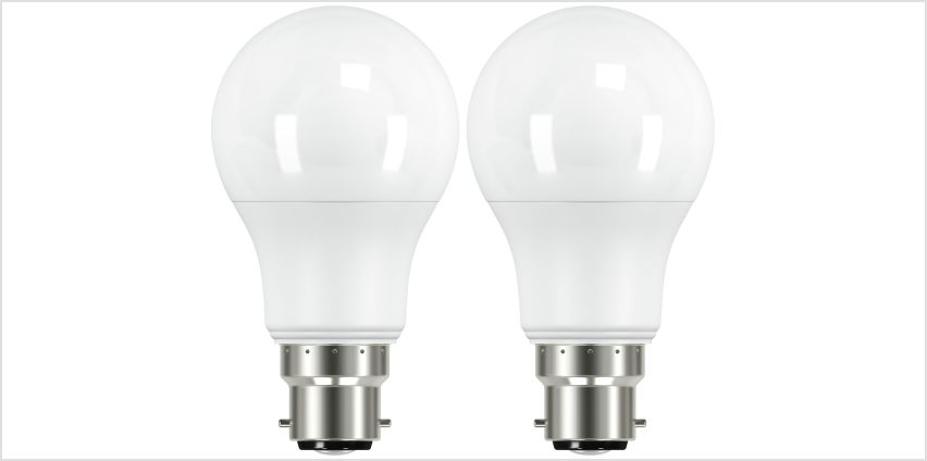 Argos Home 8W LED BC Dimmable Light Bulb - 2 Pack from Argos
