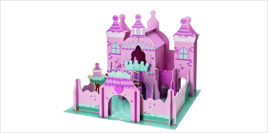 Chad Valley Magical Wooden Castle from Argos