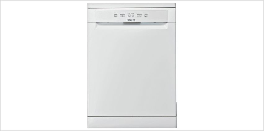Hotpoint HFC 2B19 Freestanding Dishwasher - White from Argos