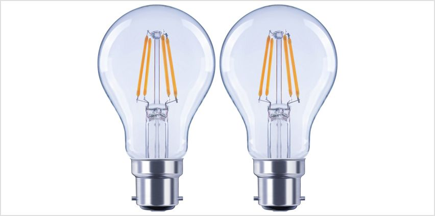 Argos Home 4W LED BC Light Bulb - 2 Pack from Argos