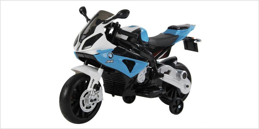 BMW 12V Motorbike Powered Ride On from Argos