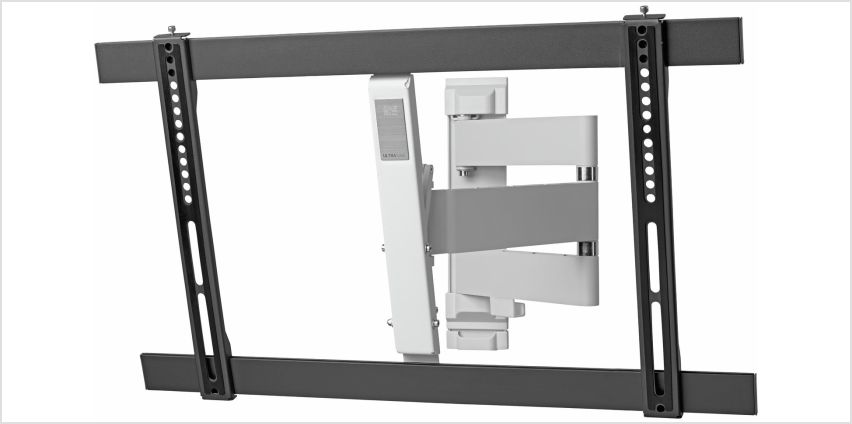 One For All Tilt and Swivel Up To 84 Inch TV Wall Bracket from Argos