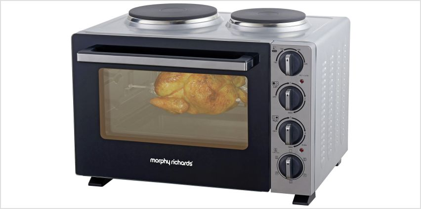 Morphy Richards 28L Mini Oven with Hob from Argos