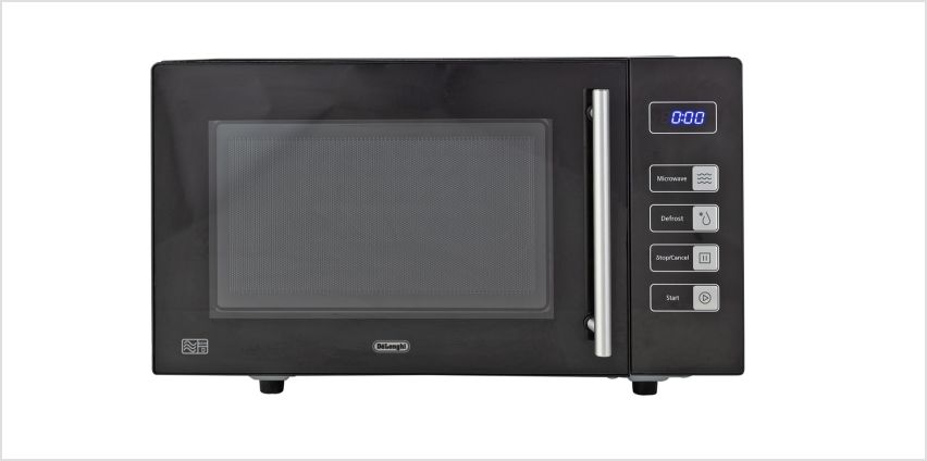 De'Longhi 800W Standard Microwave AM823 - Black from Argos