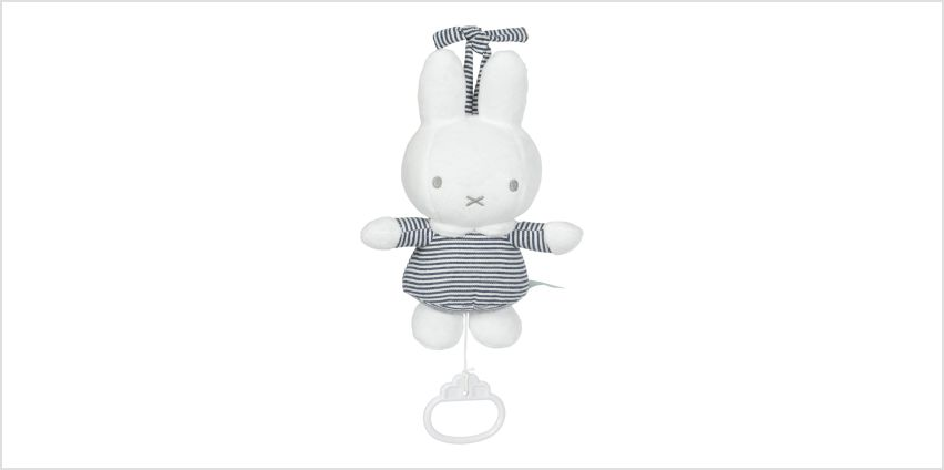 Miffy Stripe Musical Pull Down Toy from Argos